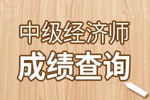 2019年宁夏中级经济师成绩查询网址中国人事考试网