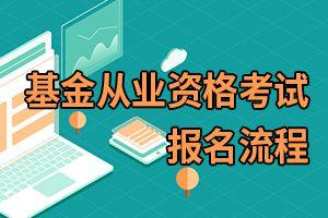 2020年上海基金从业资格考试报名流程